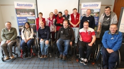 Some of the Sportability team at our AGM
