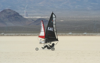 Chris racing in the World Championship